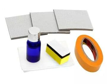 Headlight Restoration Kit and Lens Sealer Restore Plastic Headlamps Repair set